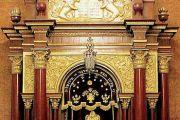 Фарбренген в синагоге Бродского.